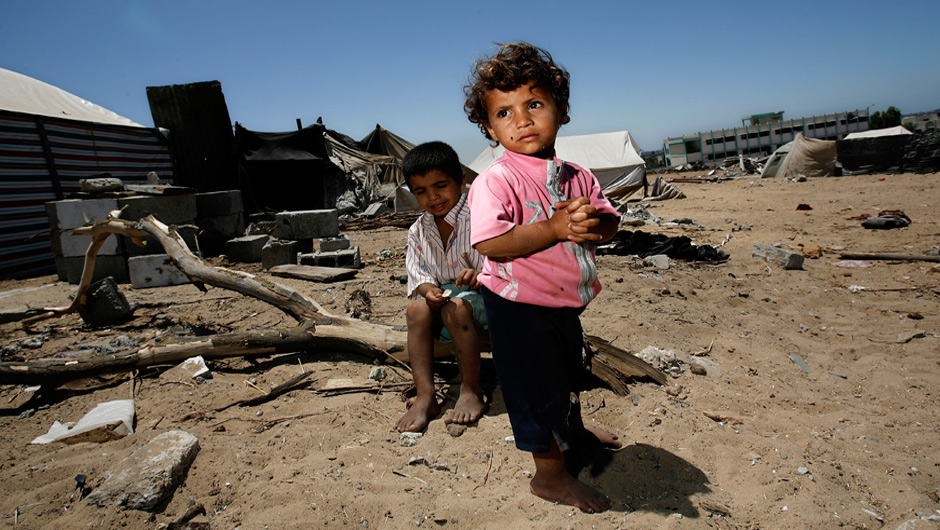 The children of Gaza